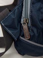 Niebieski plecak męski na jedno ramię                                  zdj.                                  2