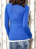 Niebieski sweter zapinany na guziki Funk n Soul                                                                          zdj.                                                                         6