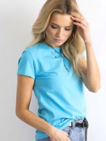 Niebieski t-shirt Peachy                                  zdj.                                  3