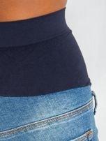 Niebieskie jeansy ciążowe Lillie                                  zdj.                                  5