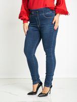 Niebieskie jeansy plus size Priority                                  zdj.                                  3
