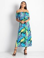 Niebiesko-zielona sukienka Caraibbean                                  zdj.                                  1