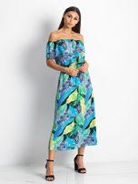 Niebiesko-zielona sukienka Caraibbean                                  zdj.                                  4