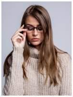 Okulary korekcyjne +1.0 D do czytania z systemem FLEX na zausznikach +GRATIS PLASTIKOWE ETUI I ŚCIERECZKA Z MIKROFIBRY                                                                          zdj.                                                                         2