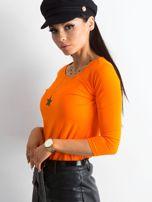 Pomarańczowa bluzka Mona                                  zdj.                                  3