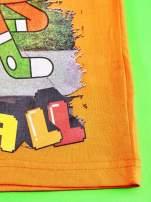 Pomarańczowy t-shirt chłopięcy GUMBALL                                  zdj.                                  5
