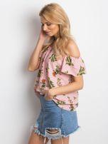 Pudroworóżowa bluzka Anymore                                  zdj.                                  3