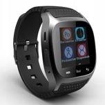 RONEBERG Smartwatch RM26 Współpracuje z Android oraz iOS Powiadomienia Połączenia Krokomierz Monitor snu Czarny                                  zdj.                                  2