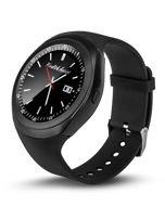 RONEBERG Smartwatch RY1B Współpracuje z Android oraz iOS Powiadomienia Połączenia Krokomierz Czarny                                  zdj.                                  1