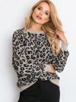 RUE PARIS Beżowy sweter Corsica                                  zdj.                                  4