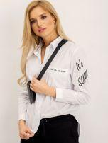 RUE PARIS Biała koszula Luigi                                  zdj.                                  3