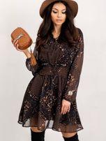 RUE PARIS Czarna sukienka Camilla                                  zdj.                                  1