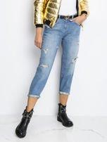 RUE PARIS Niebieskie jeansy Georgina                                   zdj.                                  1