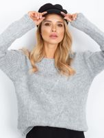RUE PARIS Szary sweter Tiffany                                  zdj.                                  1