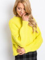 RUE PARIS Żółty sweter Zoe                                  zdj.                                  1