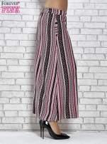 Różowa spódnica maxi w azteckie wzory                                  zdj.                                  3