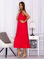 Różowa zwiewna sukienka maxi                                  zdj.                                  5