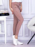 Różowe spodnie z kieszeniami                                   zdj.                                  5