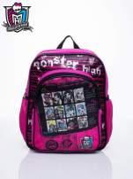 Różowy plecak dla dziewczynki DISNEY Monster High                                  zdj.                                  1