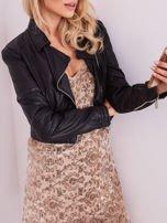 Beżowa sukienka mini                                   zdj.                                  9