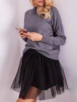 Szary sweter damski                                  zdj.                                  9