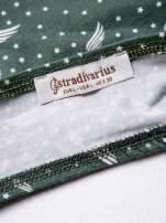 STRADIVARIUS Zielony bralet w gwiazdki