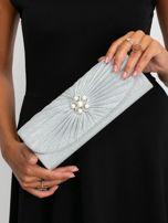 Srebrna kopertówka z perełkami                                  zdj.                                  1