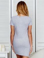 Sukienka jasnoszara bawełniana COOL STORY BRO                                  zdj.                                  3