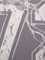 Szara bluza z numerem w stylu collage                                  zdj.                                  4