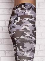 Szare legginsy z nadrukiem moro                                  zdj.                                  5