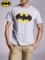 Szary t-shirt męski BATMAN                                  zdj.                                  3