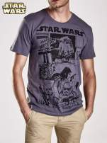 Szary t-shirt męski STAR WARS                                  zdj.                                  3