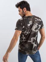 Szary t-shirt męski Warrior                                  zdj.                                  2