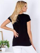 T-shirt czarny JUST KIDDING                                  zdj.                                  2