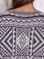 TOM TAILOR Biały sweter w etnicznym stylu z frędzlami                                                                           zdj.                                                                         8
