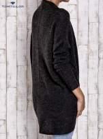 TOM TAILOR Ciemnoszary wełniany sweter oversize