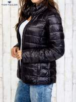 TOM TAILOR Czarny dwuczęściowy płaszcz z kurtką pikowaną                                                                          zdj.                                                                         12