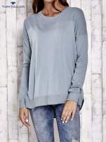 TOM TAILOR Ecru warstwowy sweter                                                                           zdj.                                                                         2