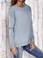 TOM TAILOR Ecru warstwowy sweter                                                                           zdj.                                                                         4
