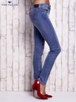 TOM TAILOR Niebieskie jeansy z przetarciami                                  zdj.                                  2
