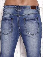 TOM TAILOR Niebieskie modułowe spodnie jeansowe                                  zdj.                                  6