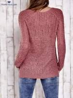 TOM TAILOR Ecru ażurowy sweter                                                                          zdj.                                                                         4