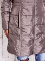 TOM TAILOR Szara długa kurtka z wszytymi kieszeniami                                  zdj.                                  9