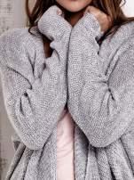 TOM TAILOR Szary wełniany sweter oversize                                  zdj.                                  7
