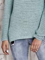 TOM TAILOR Zielony włóczkowy sweter                                  zdj.                                  6