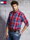TOMMY HILFIGER Czerwona koszula męska w kratę                                  zdj.                                  5