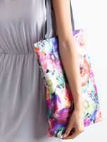 Torba na ramię w kolorowe kwiaty                                  zdj.                                  2