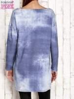 Tunika z naszywkami jasnoniebieska                                  zdj.                                  2