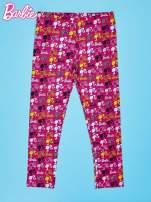 Wielokolorowe legginsy dla dziewczynki BARBIE                                  zdj.                                  1