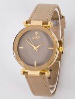 Zegarek damski beżowy                                  zdj.                                  1